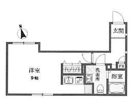 東京都豊島区高松1丁目の賃貸マンションの間取り