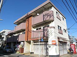 富岡マンション[201号室]の外観