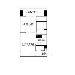 サンコート円山ガーデンヒルズ[3階]の間取り