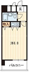 香川県高松市観光町の賃貸マンションの間取り
