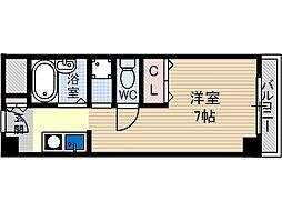 ヤングパレス茨木[3階]の間取り