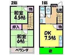 [一戸建] 愛媛県松山市鷹子町 の賃貸【愛媛県 / 松山市】の間取り