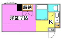 サテライト藤[2階]の間取り