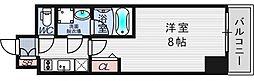 ファーストフィオーレ東梅田[10階]の間取り