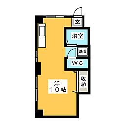 ITO BUIL[2階]の間取り