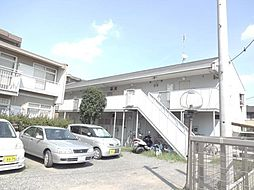 神奈川県川崎市多摩区宿河原の賃貸アパートの外観