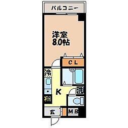 メゾンフルール[304号室]の間取り