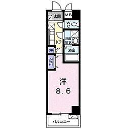 メゾン ド サクラ[3階]の間取り