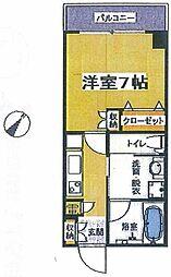 La Maison de Pomme(ラメゾンドポム)[5階]の間取り