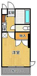 彩華1[205号室]の間取り