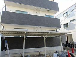 大阪府大阪市東住吉区鷹合2丁目の賃貸アパートの外観