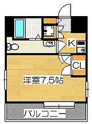 サヴォイレジェント[5階]の間取り