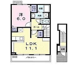 FELICE[2階]の間取り