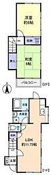 [一戸建] 千葉県船橋市大穴北3丁目 の賃貸【/】の間取り