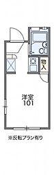 レオパレスFUKUMURAIII[102号室]の間取り