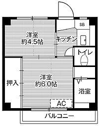 【敷金礼金0円!】ビレッジハウス高富2号棟