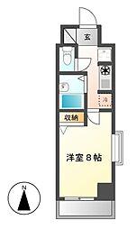 CASTLEワタナベ[3階]の間取り
