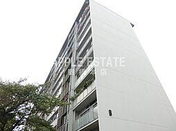 八戸ノ里グランドマンション[4階]の外観