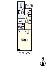 仮)シャーメゾン東海通[2階]の間取り