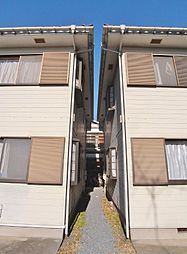 埼玉県志木市柏町5丁目の賃貸アパートの外観