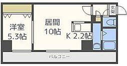 TAKKEN B・D[5階]の間取り