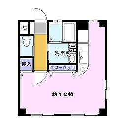 森アパート[2階]の間取り
