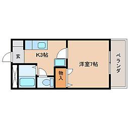 静岡県静岡市清水区天神の賃貸マンションの間取り
