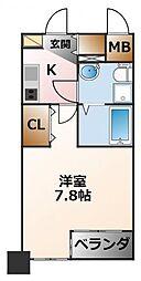 セレニテ甲子園[1階]の間取り