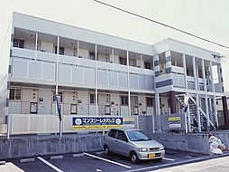大阪府大阪市東住吉区鷹合1丁目の賃貸アパートの外観