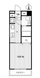 YMマンション[1階]の間取り