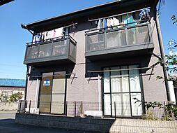 岡山県倉敷市日ノ出町1の賃貸アパートの外観