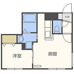 仮)北5西13MS B棟[1階]の間取り