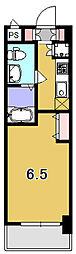レジュールアッシュ清水[7階]の間取り