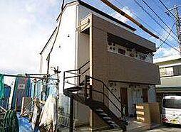 神奈川県川崎市多摩区西生田5丁目の賃貸アパートの外観
