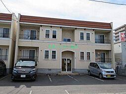北海道札幌市東区北二十五条東3丁目の賃貸アパートの外観