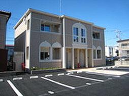 埼玉県さいたま市岩槻区東岩槻4丁目の賃貸アパートの外観