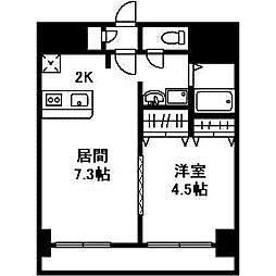 アーク菊水43[0302号室]の間取り