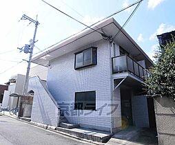 京都府京都市北区紫竹上園生町の賃貸マンションの外観