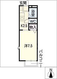 フローレスライフ本郷[1階]の間取り