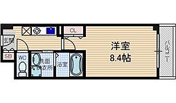 シャンピアコート茨木[6階]の間取り