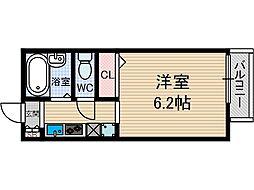 MINORUハイツ[1階]の間取り