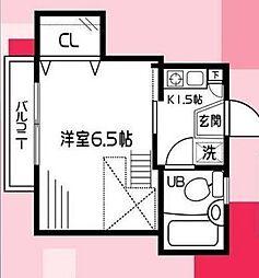 カインドハウス杉田[1階]の間取り
