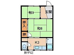 唐津麻住宅[1階]の間取り