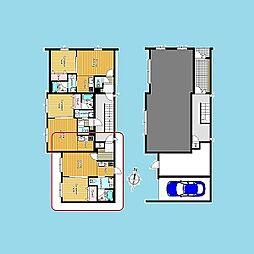 札幌市営南北線 北12条駅 徒歩2分の賃貸マンション 5階1LDKの間取り