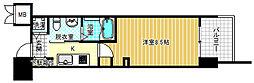 エステムプラザ梅田中崎町IIIツインマークス ノースレジデンス[5階]の間取り