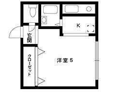 カーサ御影1[403号室]の間取り