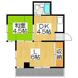 メタボ岡崎[305号室]の間取り