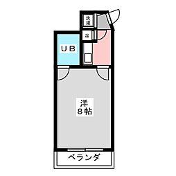 スペースヤマハナ[2階]の間取り