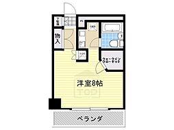 ユース山手館[4階]の間取り
