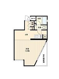 プライムアーバン経堂(旧コートモデリア経堂)[0204号室]の間取り